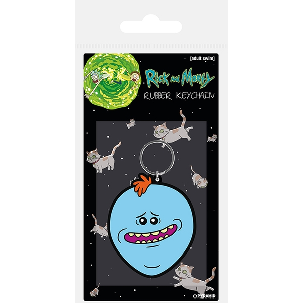 Rick and Morty - Mr. Meeseeks Keychain