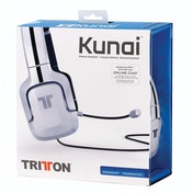Tritton Kunai Stereo Gaming Headset White PS3/ PS4