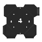 4mount Wall Mount Bracket Black for Playstation 4 Slim Console