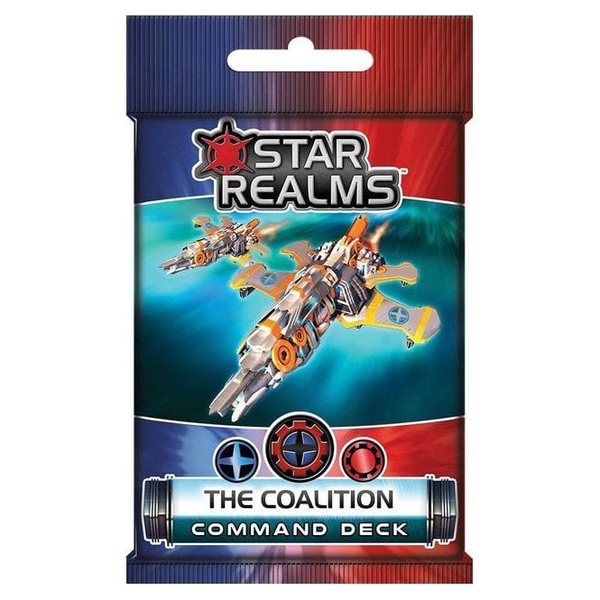 Star Realms The Coalition Command Deck