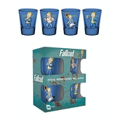 Fallout Vault Boy Colour Shot Glasses