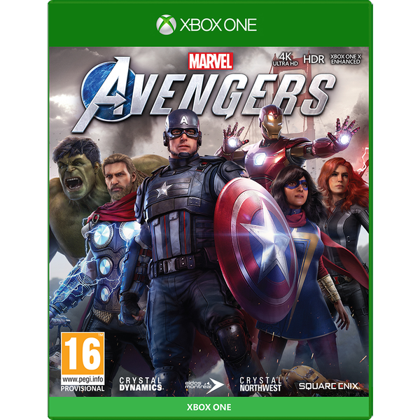 Marvel's Avengers Xbox One Game (BETA Access and Bonus DLC)
