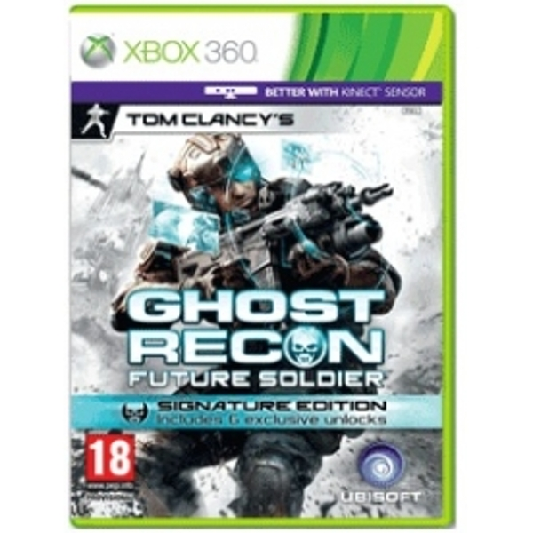 Tom Clancys Ghost Recon Future Soldier Signature Edition Game Xbox 360