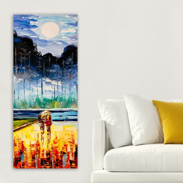 DKY2613776050_50120 Multicolor Decorative Canvas Painting