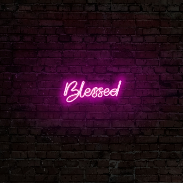 Blessed - Pink Pink Wall Lamp