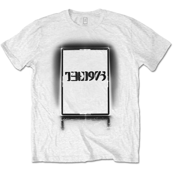 The 1975 - Black Tour Men's XX-Large T-Shirt - White