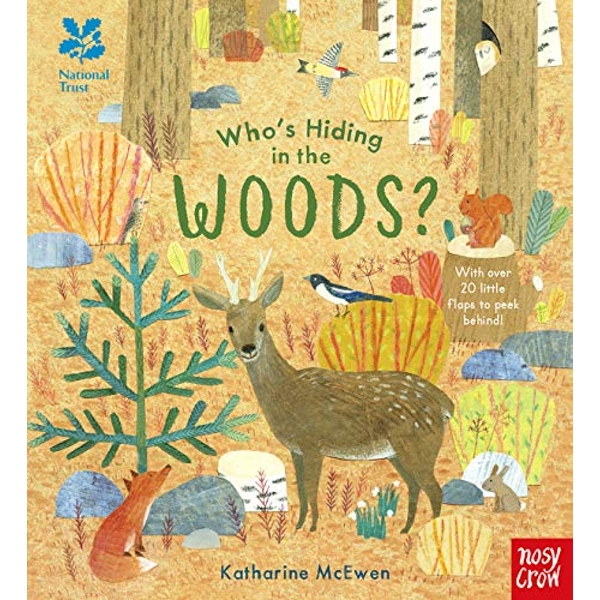 National Trust: Who's Hiding in the Woods?  Hardback 2019