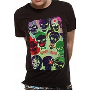 Suicide Squad Poster Unisex Small T-Shirt