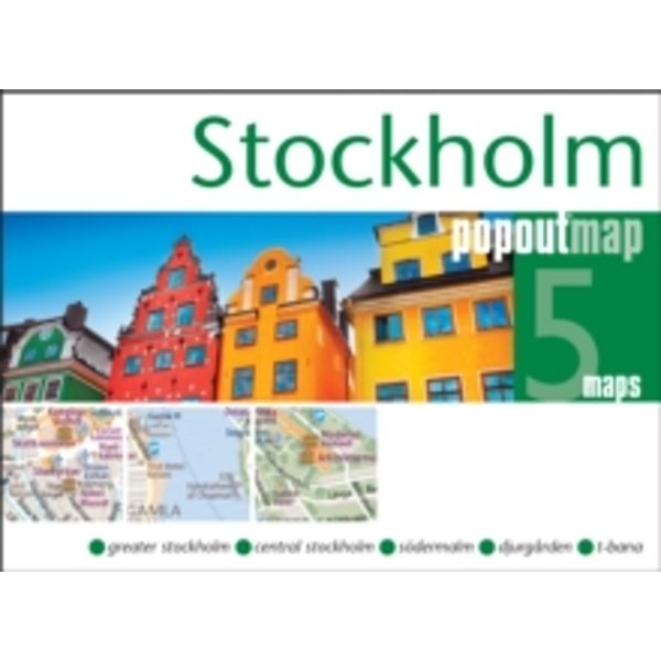 Stockholm Popout Map : Handy, Pocket Size, Pop-Up Map of Stockholm