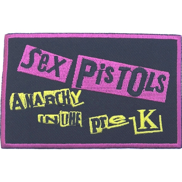 The Sex Pistols - Anarchy in the Pre-UK Standard Patch