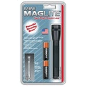 Maglite M2A016 Mini Mag AA Cell Torch in Blister Pack Black