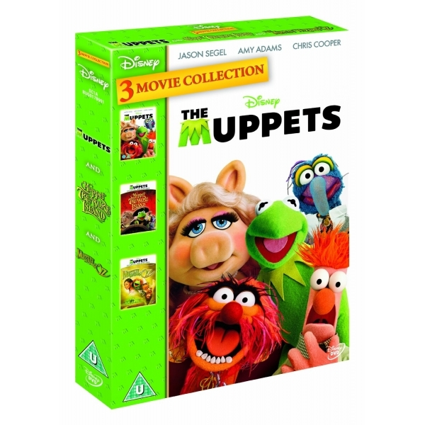 The Muppets/Muppets Wizard of Oz/Muppets Treasure Island Triple Pack DVD