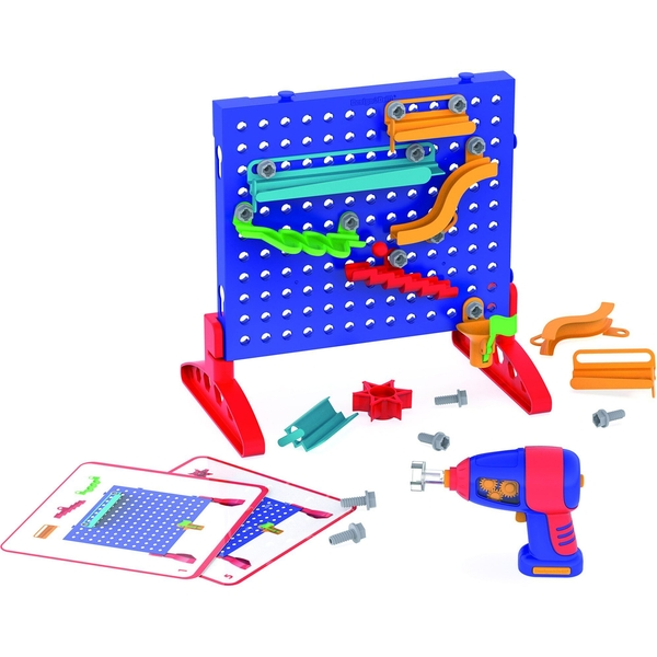 Learning Resources Design & Drill Make A Marble Maze Construction Set