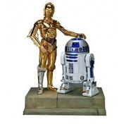 Ex-Display Kotobukiya Star Wars 1/10th Scale C3-PO & R2-D2 Artfx Statue Used - Like New