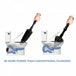 Ex-Display Toilet Plunger, 8x More Powerful To Unblock Bath Drains & Easy Clean Green House Used - Like New - Image 8