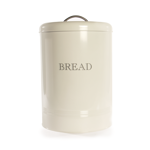 Bread Bin Crock Storage Canister Jar | M&W White