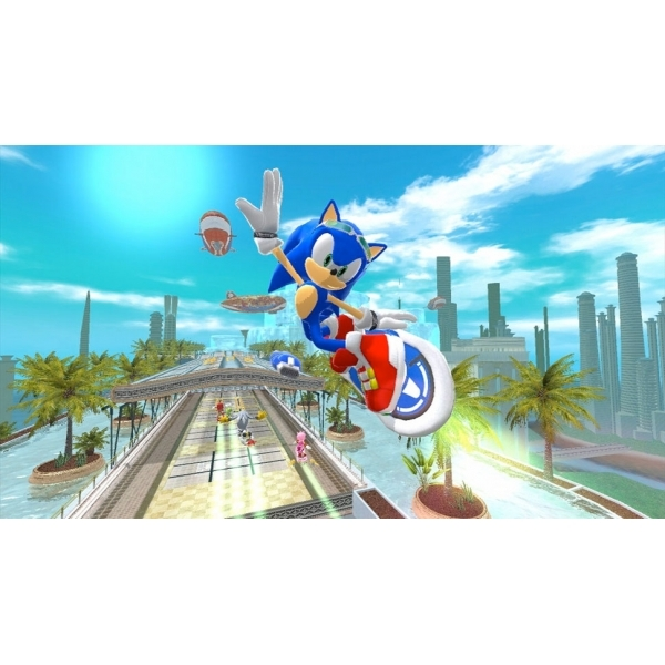 Kinect Sonic Free Riders Game Xbox 360 (#) - Image 2
