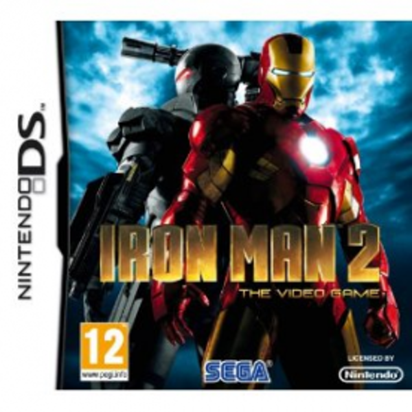Iron Man 2 Game DS