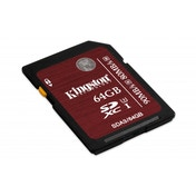 Kingston 64GB SDHC UHS 1 U3 Flash Card