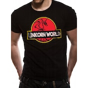 Cid Originals - Unicorn World Men's X-Large T-shirt - Black