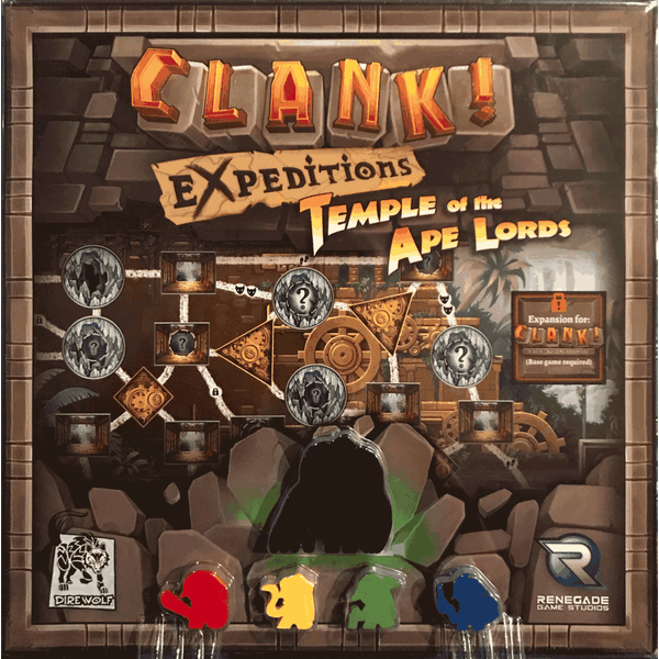 Clank! Expeditions: Temple of the Ape Lords Card Game
