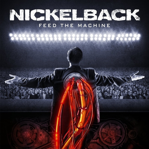 Nickelback ‎– Feed The Machine Limited Edition Red & Black Marble Vinyl