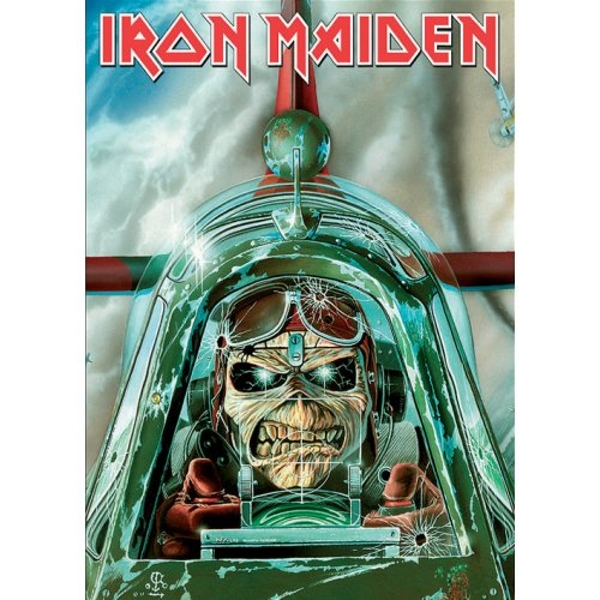 Iron Maiden - Aces High Postcard