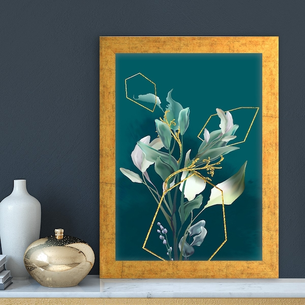 AC14867169685 Multicolor Decorative Framed MDF Painting