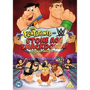 The Flintstones And WWE: Stone Age Smackdown! DVD