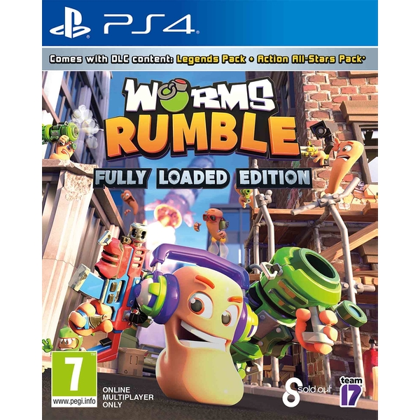 Worms Rumble Fully Loaded Edition PS4 Game