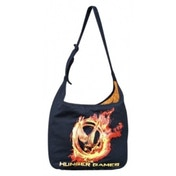 The Hunger Games Poster Art Black Shoulder Bag