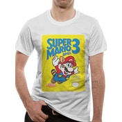 Nintendo - Super Mario Bros 3 Men's Small T-Shirt - White