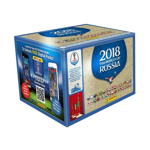 FIFA World Cup 2018 Sticker Collection - 100 Packs