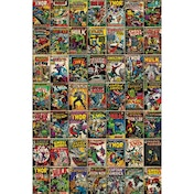 Marvel Comic Covers Maxi Poster