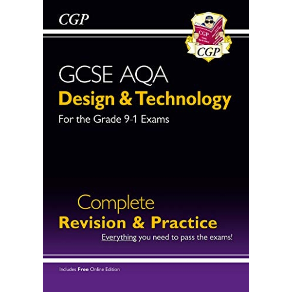 New Grade 9-1 Design & Technology AQA Complete Revision & Practice (with Online Edition)  Mixed media product 2017