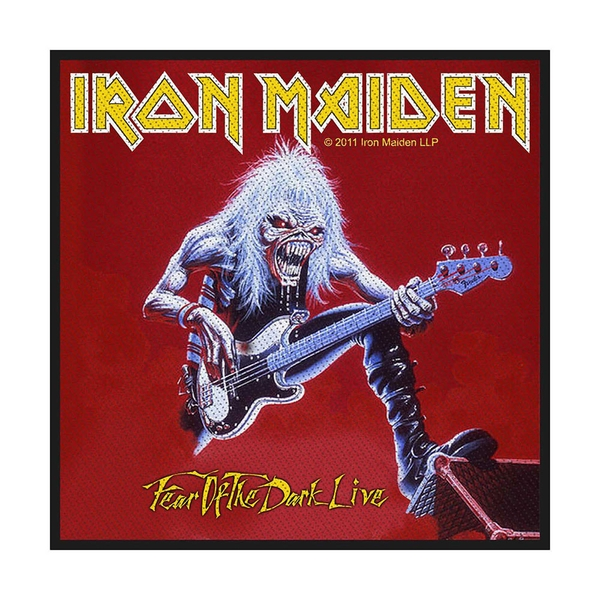 Iron Maiden - Fear of the Dark Live Standard Patch