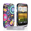 YouSave Accessories HTC Desire X Jellyfish Gel Case - Multicoloured