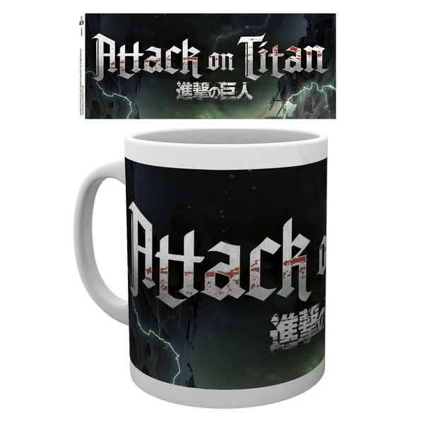 Attack On Titan Season 2 Logo Mug