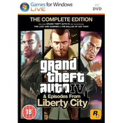 Grand Theft Auto IV 4 GTA Complete Edition Game PC