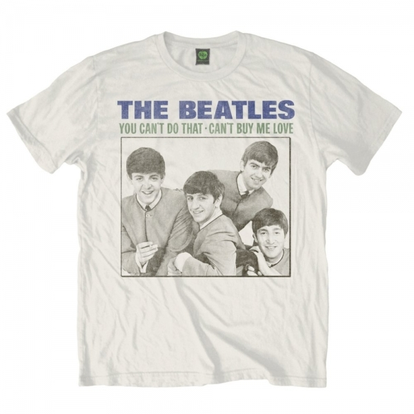 The Beatles You Cant Do That Mens White T-Shirt Medium
