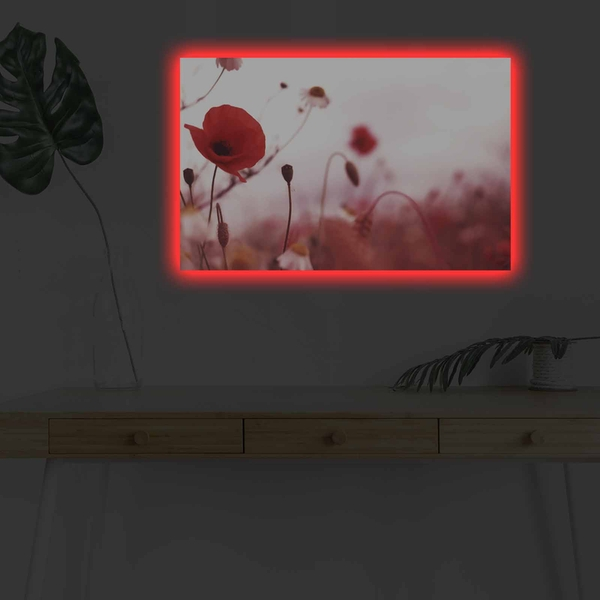 4570DHDACT-140 Multicolor Decorative Led Lighted Canvas Painting