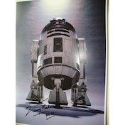 Star Wars In Person Signed 16X12 - Kenny Baker - R2D2 (B)