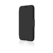 """Black Rock""""Robust"""" Protective Case for Apple iPhone 11 with Magnetic Flap and 180° or 360° Protection Black"""