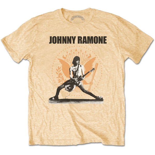 Johnny Ramone - Rockin n Seal Unisex X-Large T-Shirt - Yellow