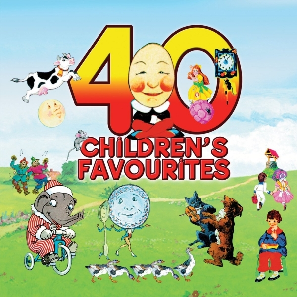 Various Artists - 40 Childrens Favourites CD