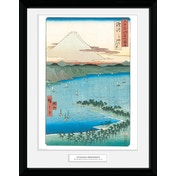 Hiroshige The Pine Beach At Miho Collector Print