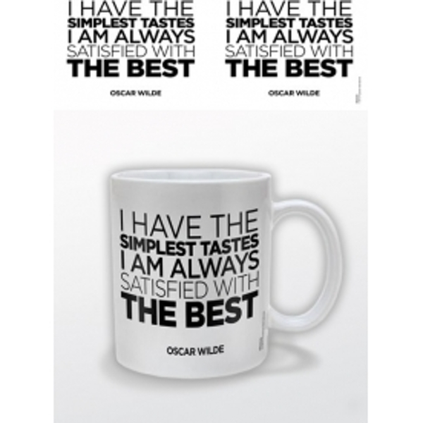The Best Oscar Wilde Mug