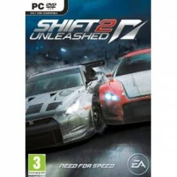 Ex-Display Need For Speed NFS Shift 2 Unleashed Game PC Used - Like New