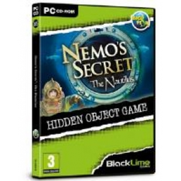 Nemos Secret The Nautilus Hidden Object Game for PC (CD-ROM)