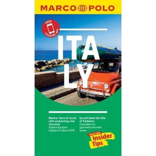 Italy Marco Polo Pocket Travel Guide - with pull out map  Paperback / softback 2018
